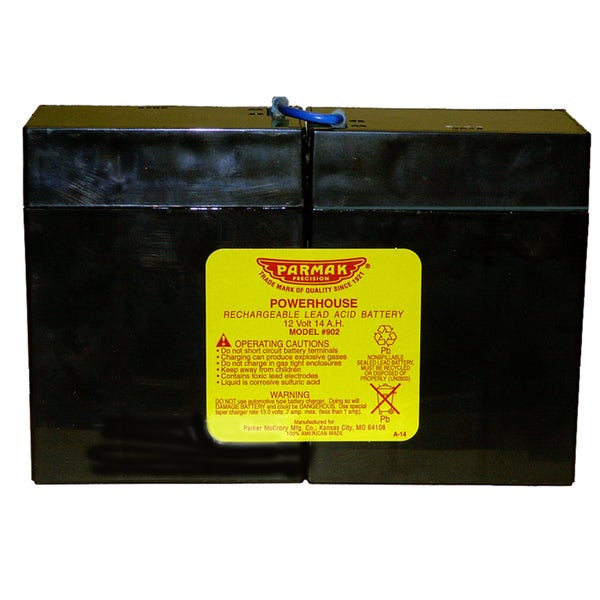 Parmak Precision 1902 12-volt Fencer Battery