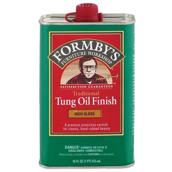 Formbys 30063 16 Oz High Gloss Tung Oil Finish