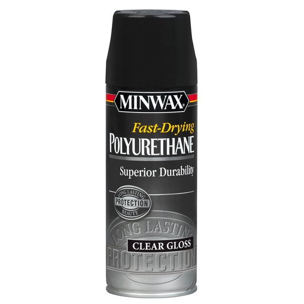 Minwax 33050 Gloss Fast-Drying Polyurethane Finish Aerosol
