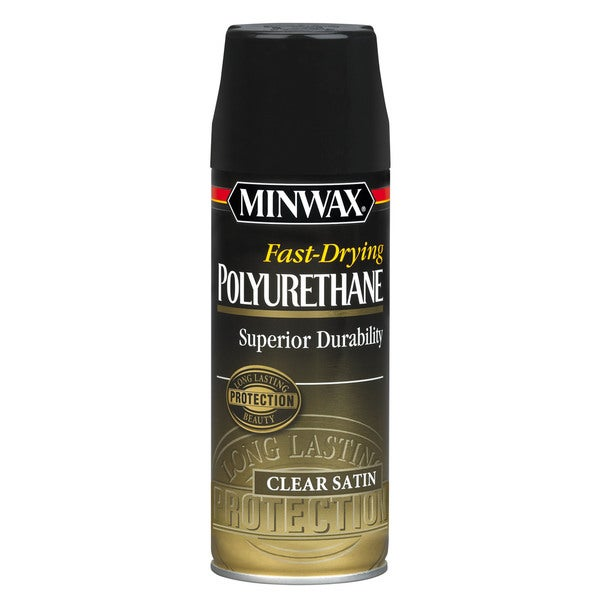 Minwax 33060 Satin Fast-Drying Polyurethane Finish