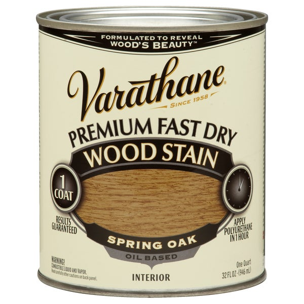 Varathane 262004 1 Qt. Spring Oak Fast Dry Wood Stain
