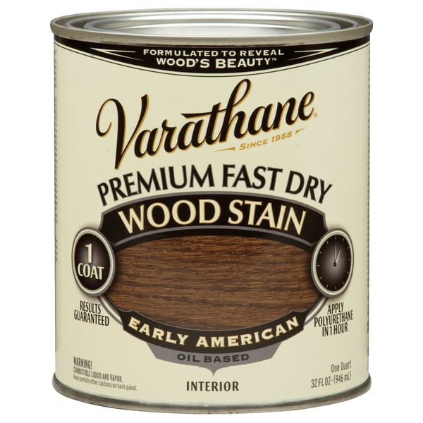 Varathane 262005 1 Qt. Early American Fast Dry Wood Stain
