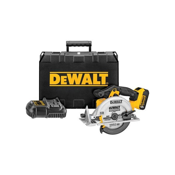 DEWALT DCS391P1 20V MAX Lithium Ion Circular Saw Kit