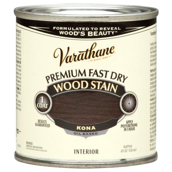 Varathane 262029 1/2 Pint Kona Fast Dry Wood Stain