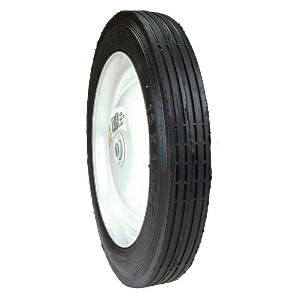 Maxpower 335190 10 inches x 1.75 Inches Steel Centered Wheel