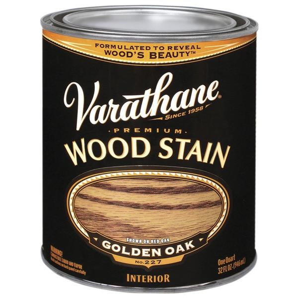Varathane 211716H 1 Quart Golden Oak Varathane Premium Wood Stain