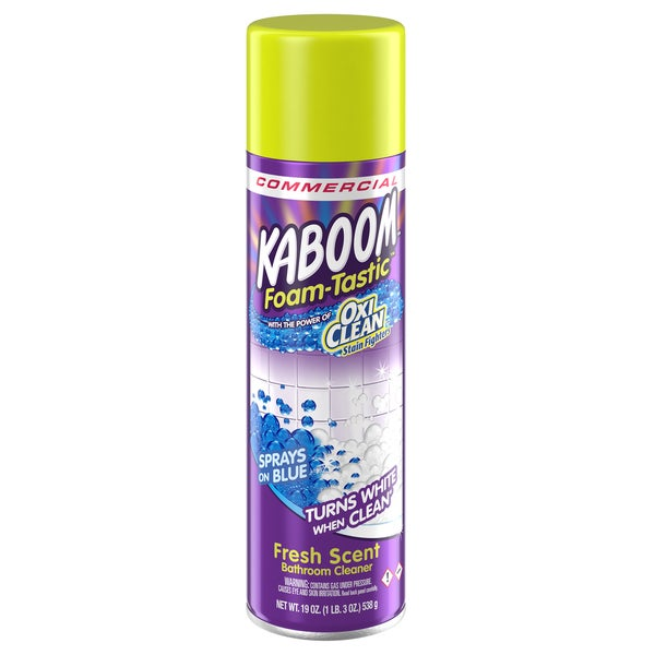 Kaboom 57037-35270 19 Oz Foam-Tastic Bathroom Cleaner With Oxi Clean