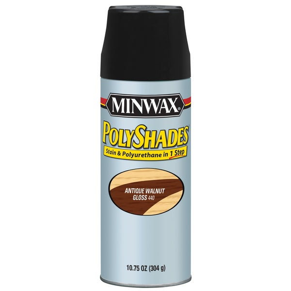 Minwax 31440 Antique Walnut Gloss Stain & Polyurethane