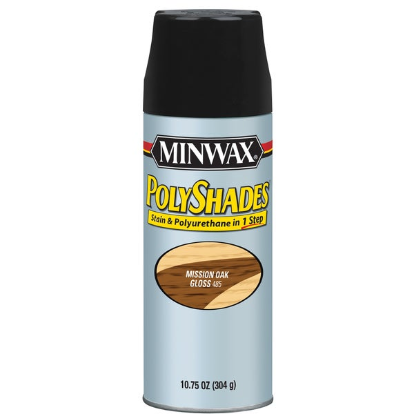 Minwax 31485 Mission Oak Gloss Stain & Polyurethane