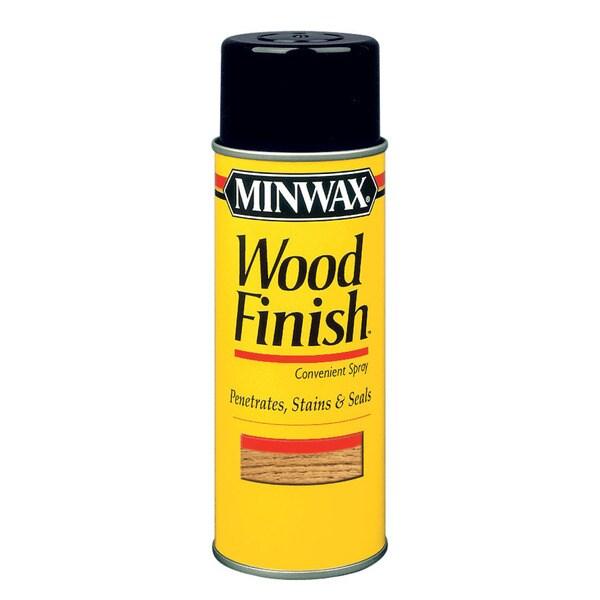 Minwax 32102 12 Oz Wood Finish Golden Oak Wood Stain Aerosol Spray