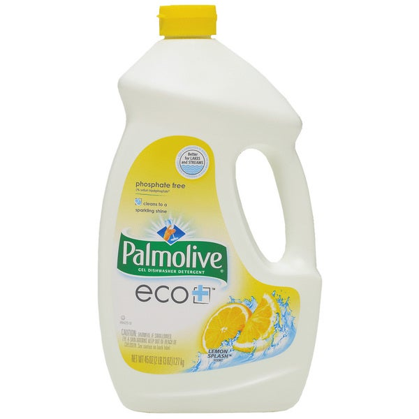 Palmolive 47805 45 Oz Lemon Splash Palmolive eco+ Gel DW Detergent
