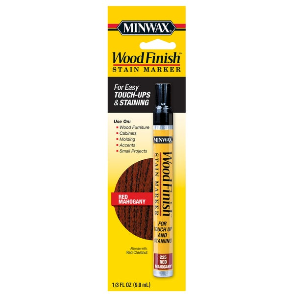 Minwax 63484 Wood Finish Mahogany Stain Marker Interior Wood