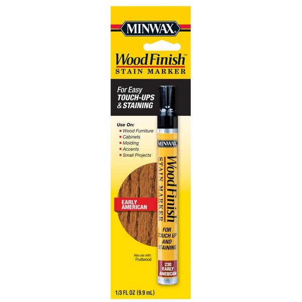 Minwax 63485 Wood Finish Early American Stain Marker Interior Wood