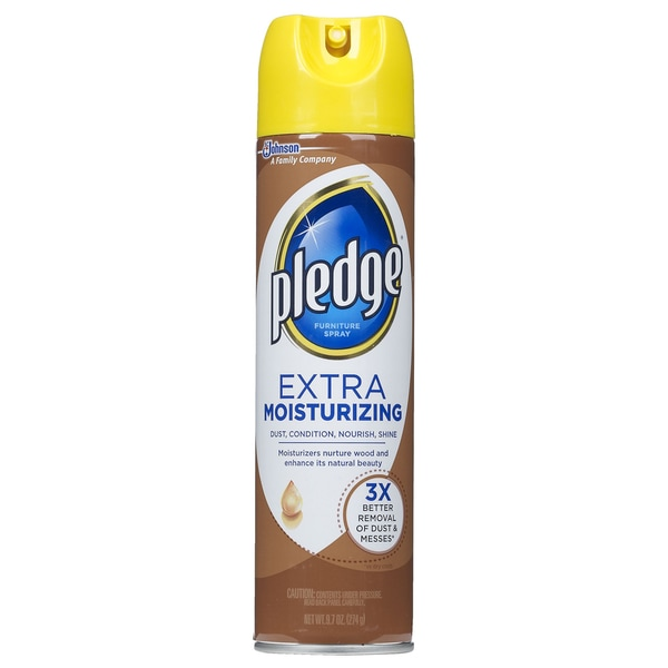 Pledge 72374 9.7 Oz Extra Moisturizing Furniture Polish
