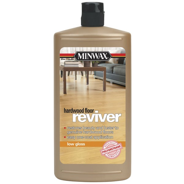Minwax 609604444 32 Oz Low Gloss Reviver Hardwood Floor Restorer