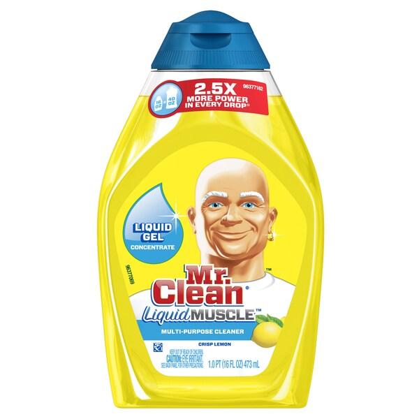 Mr Clean 88864 16 Oz Lemon Liquid Muscle Gel Concentrate