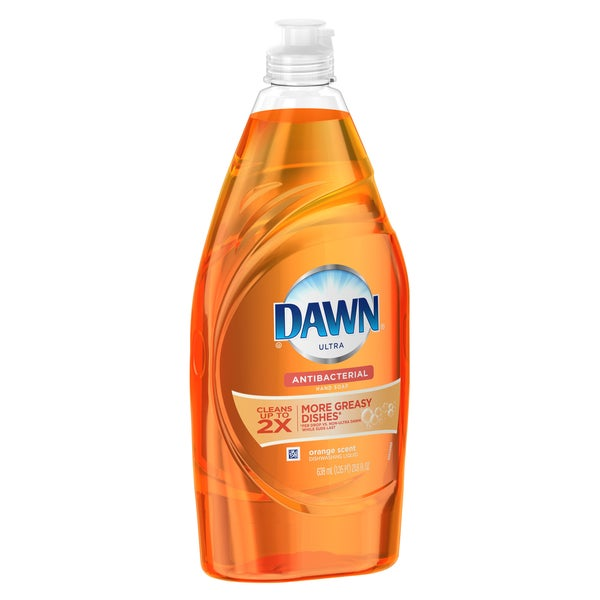 Dawn 91888 21.6 Oz Orange Ultra Anti-Bacterial Dishwashing Liquid