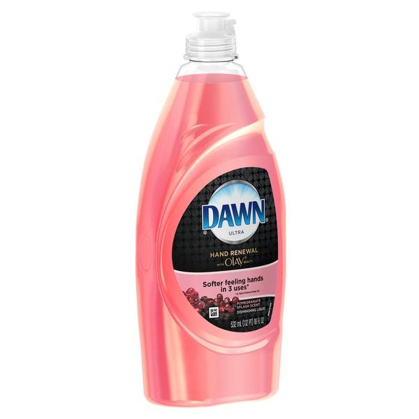 Dawn 91595 20 Oz Pomegranate Splash Dish Liquid With Olay