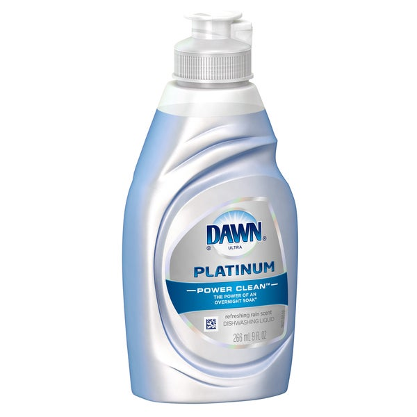 Dawn 00459 9 Oz Refreshing Rain Platinum Power Clean Dishwashing Liquid