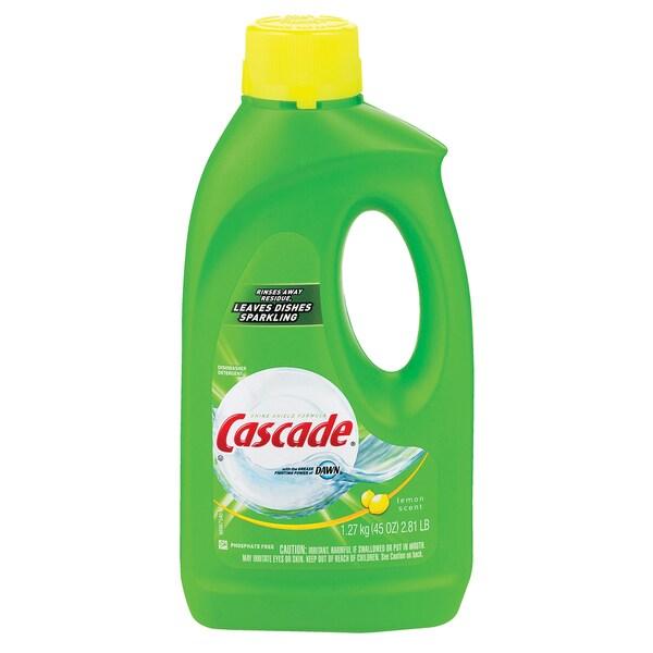 Cascade 40148 Cascade Gel Lemon Dishwasher Detergent