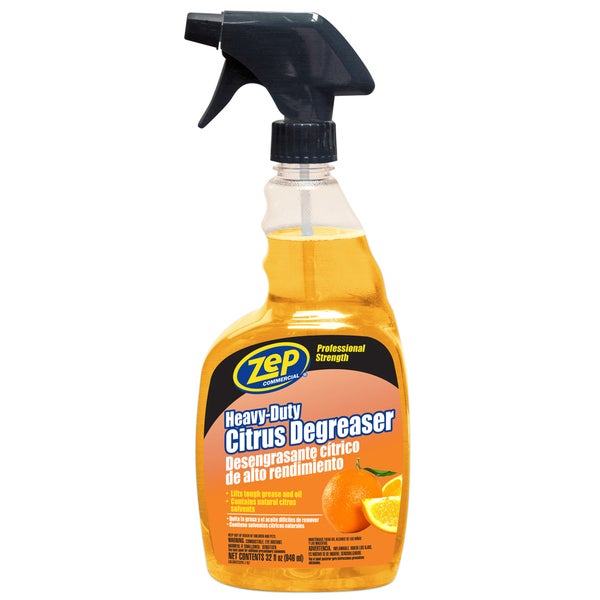 Zep Commercial ZUCIT32 32 Oz Zep Heavy-Duty Citrus Degreaser