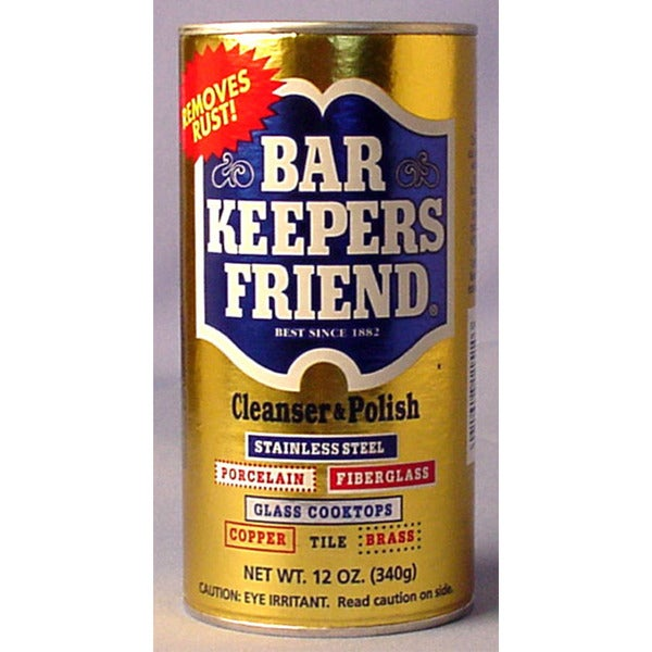 Bar Keepers Friend 11510 12 Oz Bar Keeper's Friend Cleanser & Polish