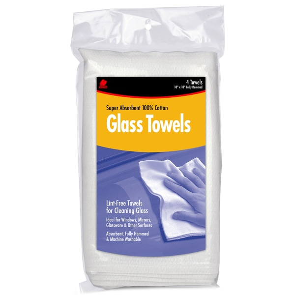 Buffalo 63100C Glass Towels