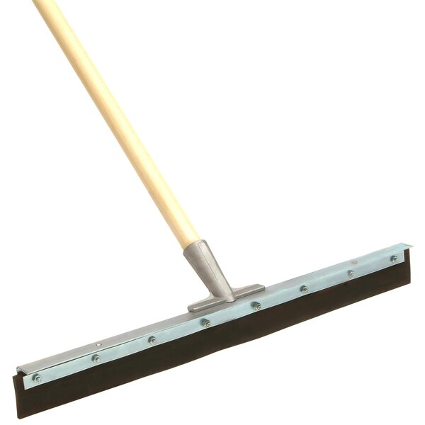 "Laitner Brush Company 567552A 24"" Floor Squeegee With Wood Handle"