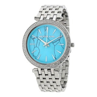 Michael Kors Women's MK3403 'Darci' Crystal Stainless Steel Watch
