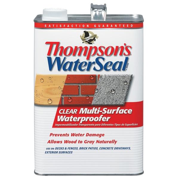 Thompsons Waterseal 24101 1 Gallon Clear WaterSeal Multi-Surface Waterproofer