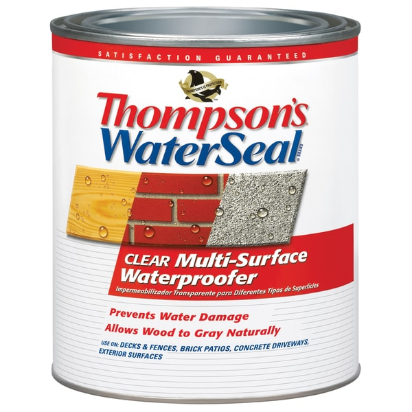 Thompsons Waterseal 24104 Quart Water Seal Multi-Surface Waterproofer