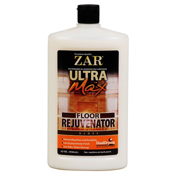Zar 37312 32 Oz Gloss Ultra Max Floor Rejuvenator