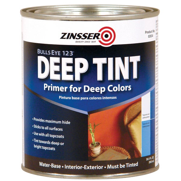 Zinsser 2034 1 Quart Deep Tint Interior Primer & Sealer
