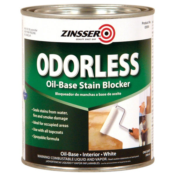 Zinsser 3954 1 Quart Bulls Eye Odorless Primer Sealer