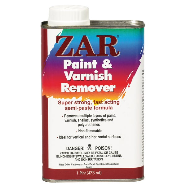 Zar 40011 1 Pint Zar Paint & Varnish Remover