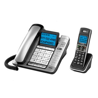 RCA 6.0 Corded/Cordless Phone Combo With Integrated Answering System