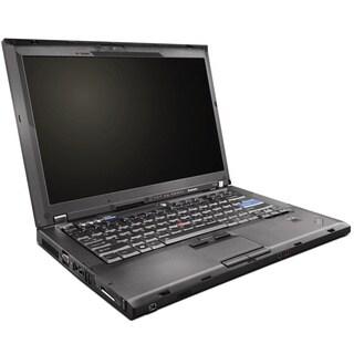 Lenovo ThinkPad T400 14.1-in Black Refurbished Laptop With Intel Core 2 Duo P8400 2.26GHz 4GB DDR3 120GB Windows 10 Pro 64-bit