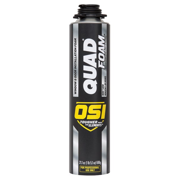 OSI Sealants 1866185 21.1 Oz Quad Window & Door Installation Foam