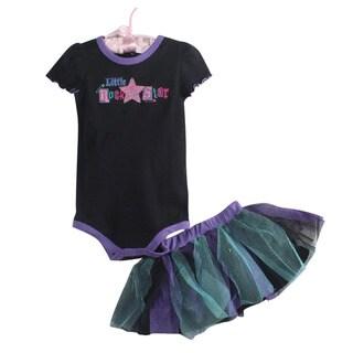 3-Piece Ruffle Dress Set