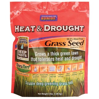 Bonide 60251 3-pound Heat & Drought Grass Seed
