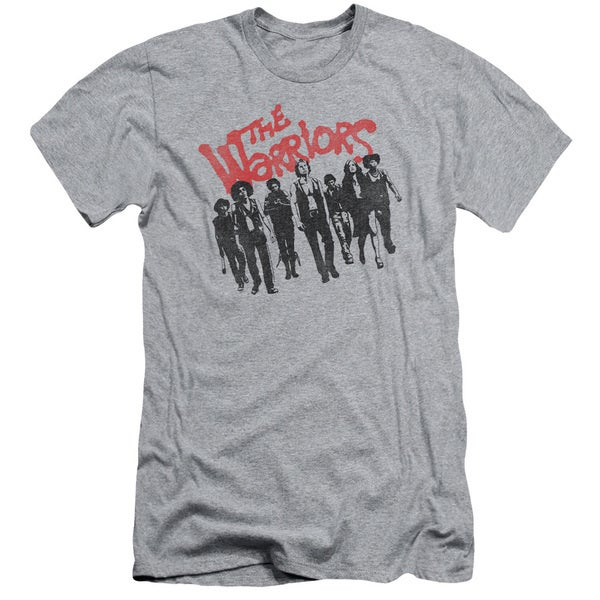 Warriors/The Gang Short Sleeve Adult T-Shirt 30/1 in Heather