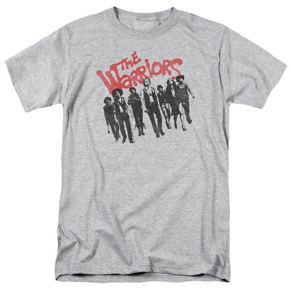 Warriors/The Gang Short Sleeve Adult T-Shirt 18/1 in Heather