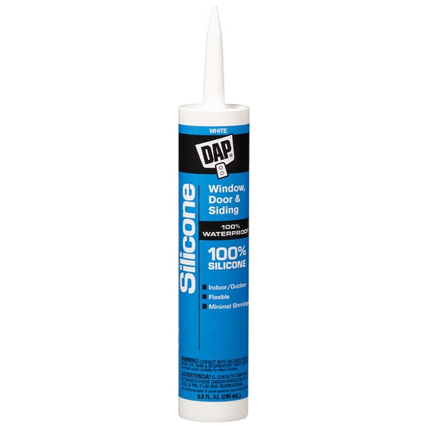 Dap 08646 9.8 Oz Dow Corning White Silicone Sealant