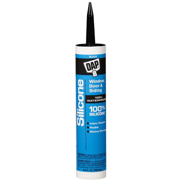 Dap 08642 9.8 fl oz Dow Corning Black Silicone Sealant