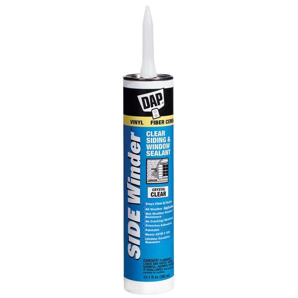 Dap 00801 White Side Winder Advance Polymer Siding & Window Sealant