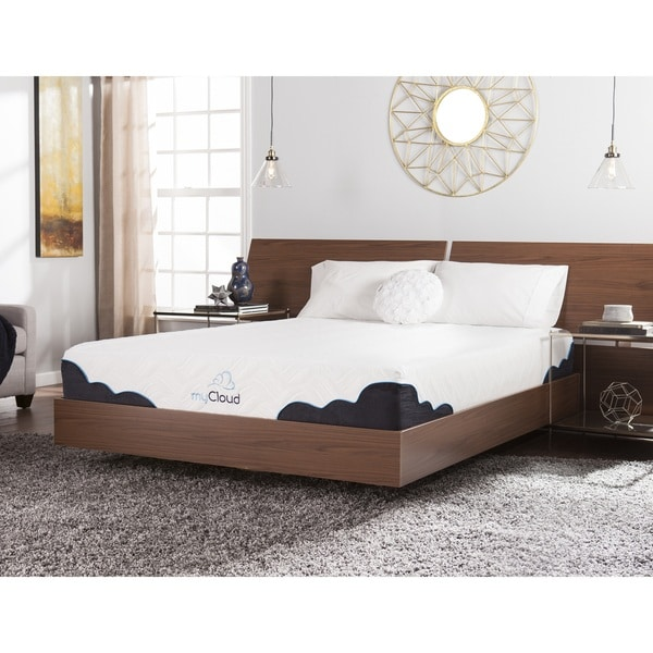 myCloud Cumulus 10-inch Queen-size Gel Memory Foam Mattress