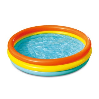 Multicolored Inflatable Wading Pool