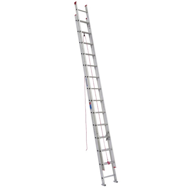 Werner D1128-2 28' Aluminum Extension Ladder 20109686