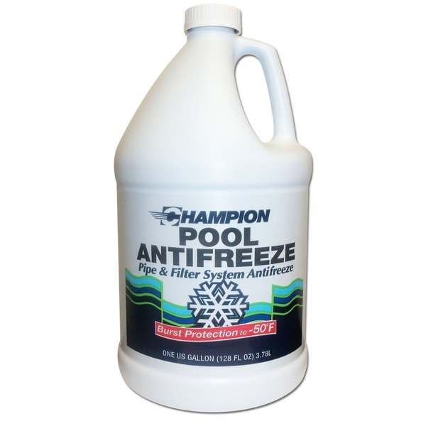 Champion Non-Toxic Swimming Pool Anti-Freeze (4 Gallons)