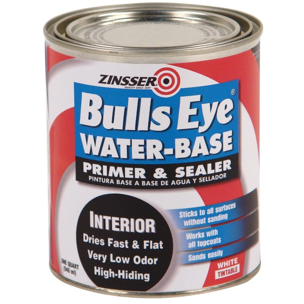 Zinsser 2244 1 Quart Bulls Eye Water Base Primer & Sealer
